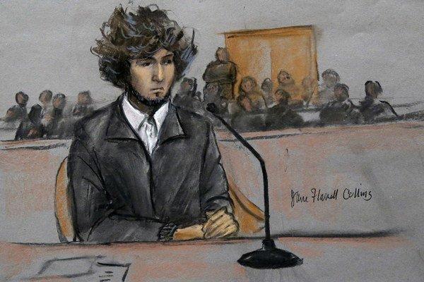 Carnajev pri čítaní rozsudku neprejavil žiadne emócie.