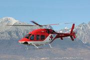 Vrtuľník Bell 429, ktorý mala záchranka ATE od roku 2014.