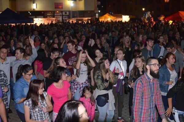 Dni mesta v Krásne nad Kysucou prlákali množstvo návštevníkov.