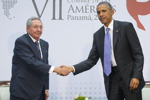 Raúl Castro a Barack Obama.