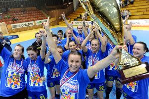 Hráčky slovenského majstra zabojujú o účasť v Lige majstrov.