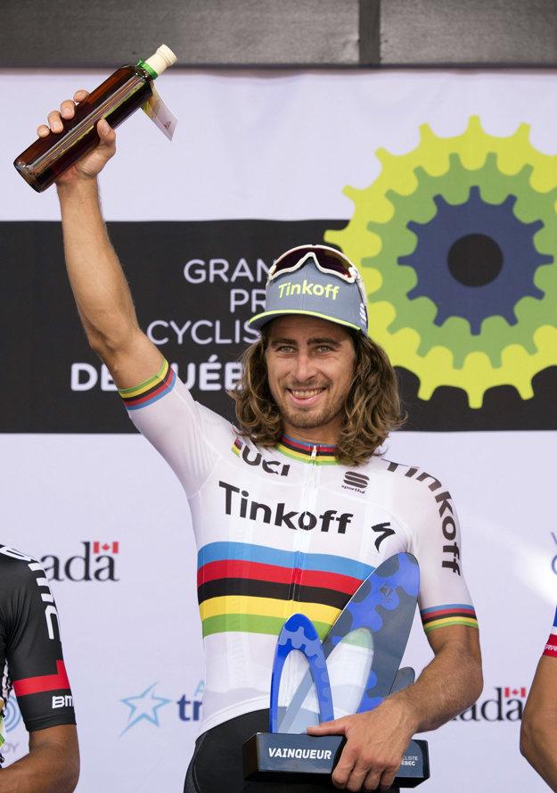 Peter Sagan bude obhajovať titul cyklistického majstra sveta.