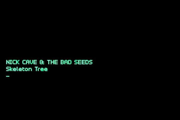 Obal albumu novinky Nicka Cava a jeho kapely The Bad Seeds.
