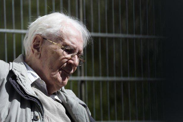 Gröning otvorenie priznával, že bol nacista a patril k SS.