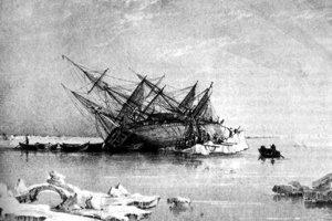 HMS Terror uviazla v ľade už aj predtým.