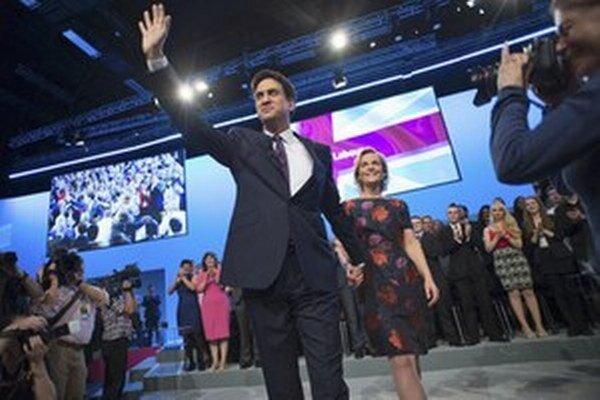 Líder labouristov Ed Miliband.