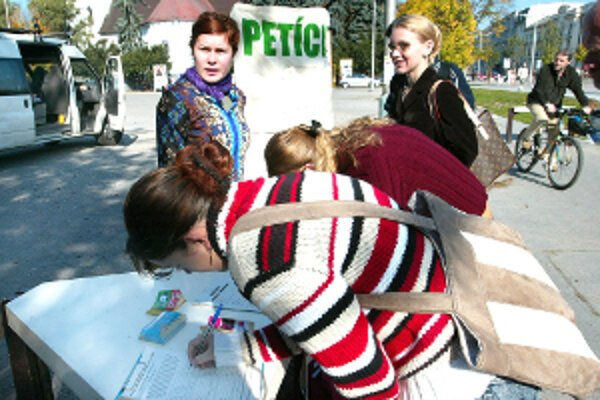 Petícia v Prievidzi nebola úspešná.