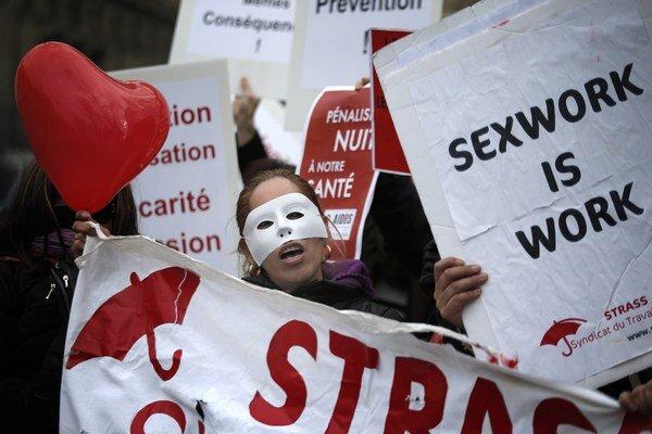 Prostitútky vo Francúzsku dlhodobo bojujú za väčšie práva.