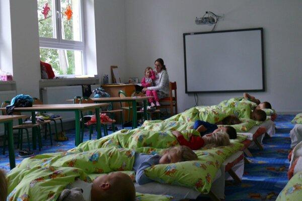 Nová trieda v Trebostove.