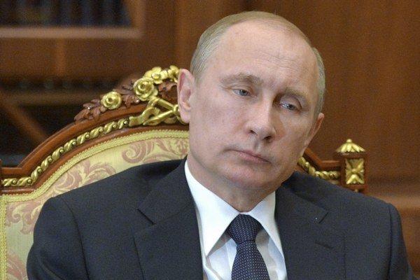 Prezidentská kancelária zverejnila Putinovu fotku zo stredy 11. marca.