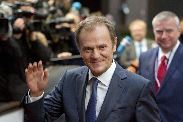Predseda Európskej rady Donald Tusk.