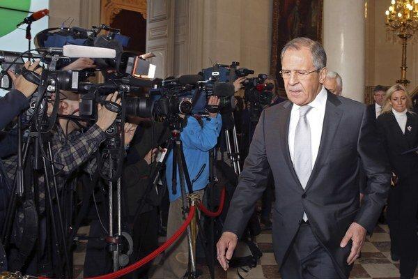 Ruský minister Lavrov.