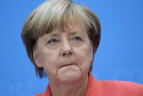Angela Merkelová.