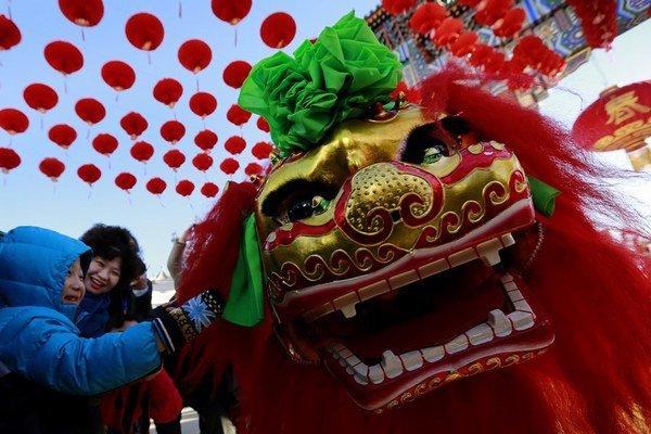 Oslavy Nového roku v Číne začali.