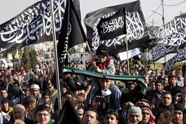 Prívrženci Islamského štátu.