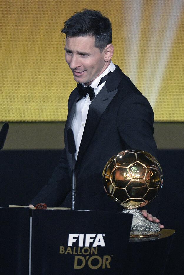 Minulý rok sa zo zisku Zlatej lopty tešil Lionel Messi.