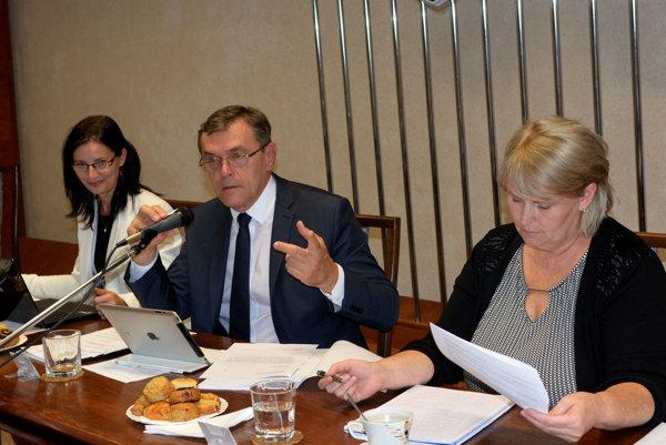 Mária Gamcová astarosta Halenár. Proti Halenárovi sa postavila aj jeho zástupkyňa.