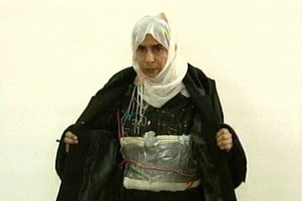 Iracká teroristka Sádžida Ríšáwíová.