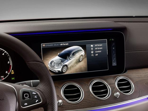 Mercedes-Benz E All-Terrain je vybavený špecifickým jazdným režimom All-Terrain