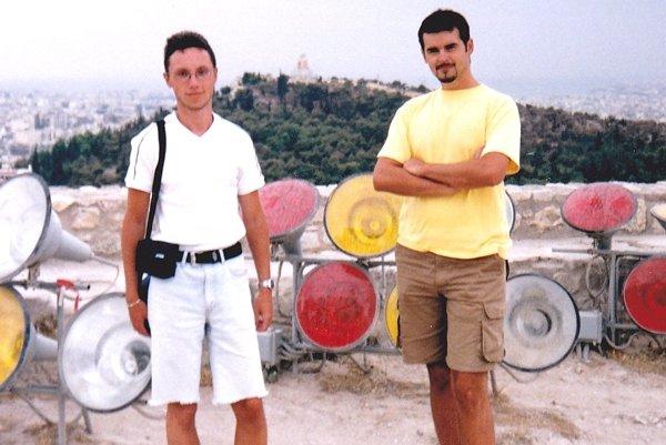 Stálymi členmi kapely Star Tool sú Juraj Paliar (vľavo) a Vladimír Hruška.