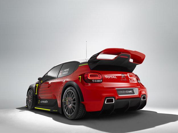 Citroën C3 WRC dostal mohutný bodykit