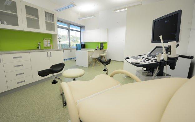 Gynekologická ambulancia.
