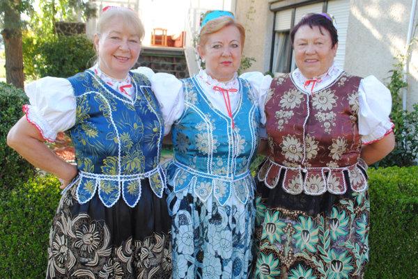 Ruskovské folkloristky.