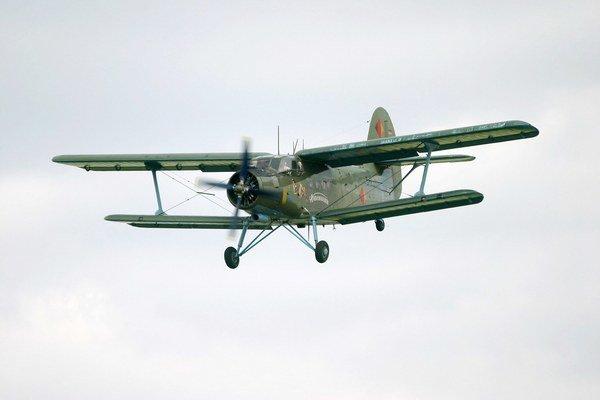 Ilustračná fotografia. Antonov AN-2.