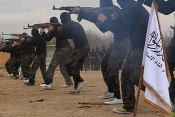 Bojovníci Islamského štátu.
