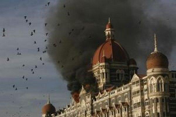 Útoky na Bombaj v roku 2008.