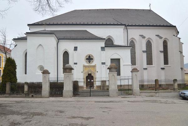 Biskupská katedrála vRožňave.
