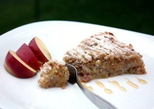 Švédsky jablkový koláč