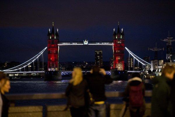 Veľká Británia - Londýn, Tower Bridge.