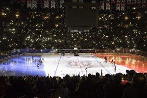 Kanada - Montreal, zápas NHL medzi Montreal Canadiens a Colorado Avalanche.