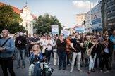 Niekoľko stoviek ľudí protestovalo za lepšiu krajinu