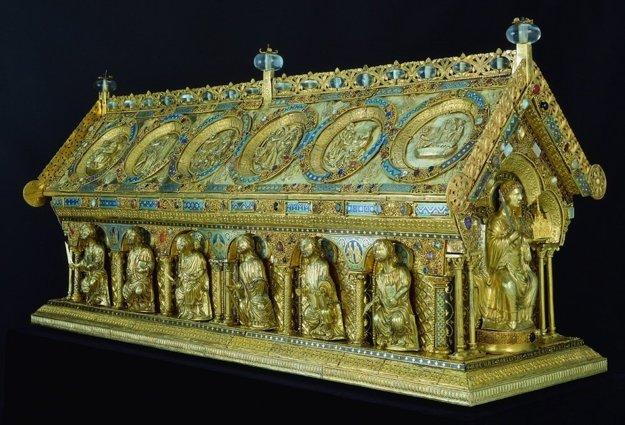 Relikviár sv. Maura, Bečov nad Teplou.