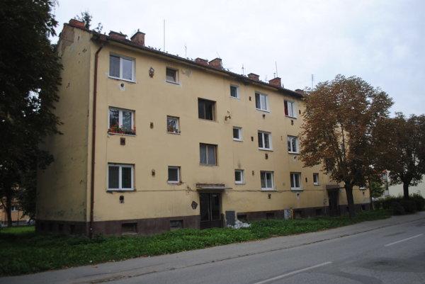 Bytový dom č. 22 a 24 na ulici Tarasa Ševčenka.