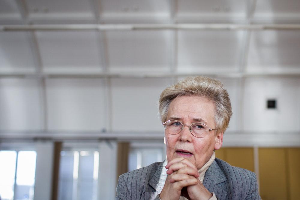 Ekonómka a politička Brigita Schmögnerová