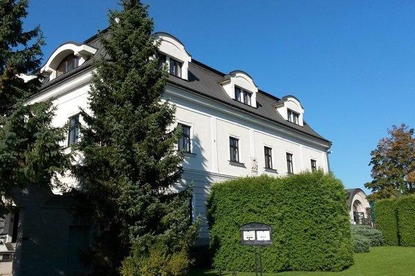 Hotel Vila Nečas v Žiline.