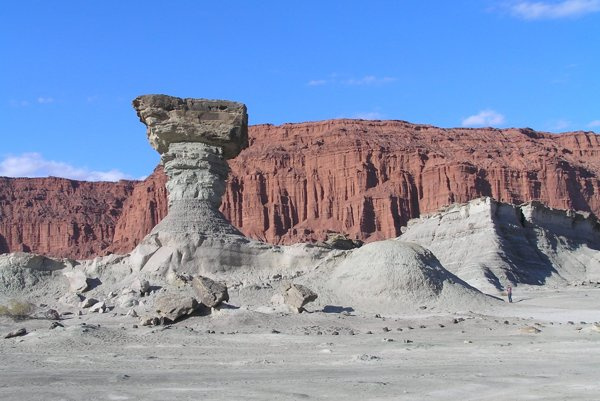 Národný park, kde našli fosílie, pripomína mesačnú krajinu