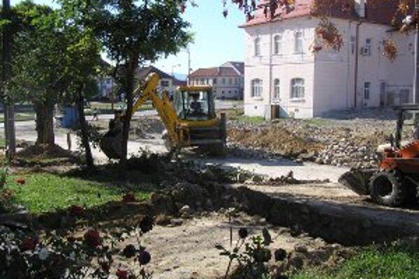 V Nitrianskom Pravne by mala byť obnova hotová do konca budúceho roka.