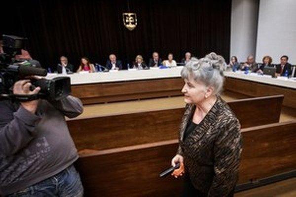 Nová predsedníčka Najvyššieho súdu Daniela Švecová.