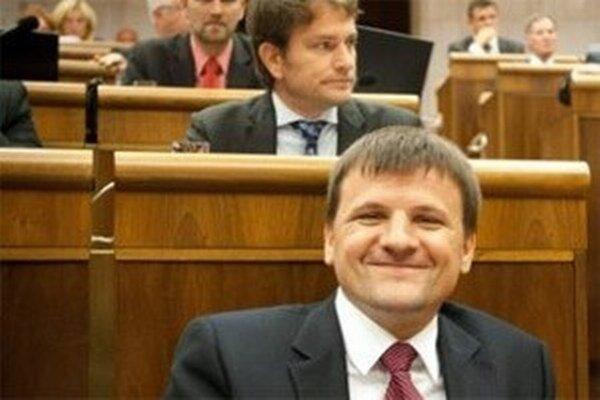 Poslanec KDH Alojz Hlina.