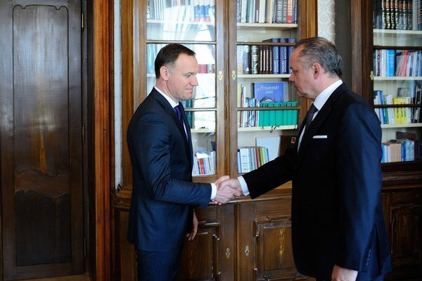 Prezident Andrej Kiska s ministrom zdravotníctva v marci 2015.