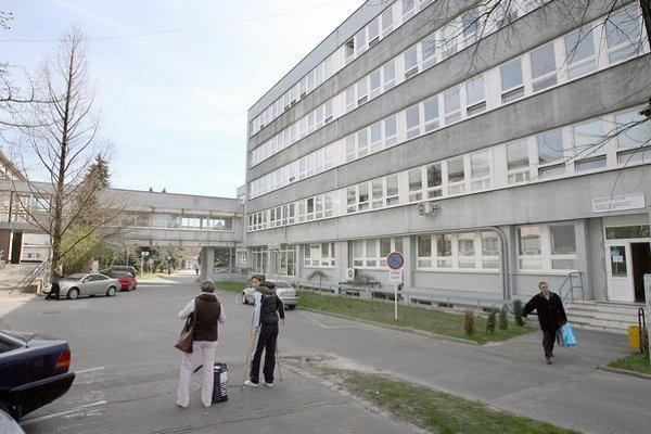 Areál na Patrónke, kde má k Vojenskej nemocnici pribudnúť ďalšia.