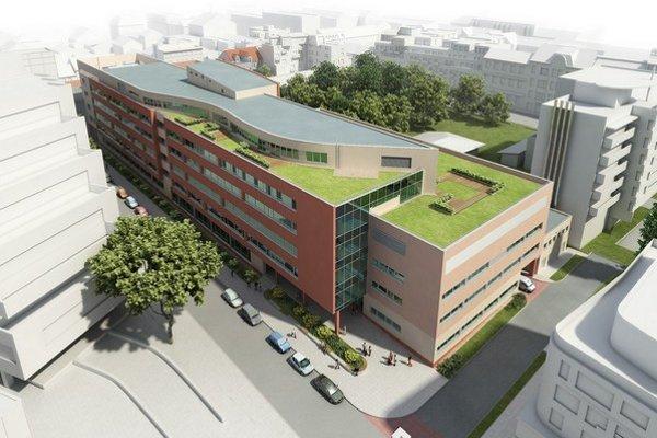 Nová nemocnica v centre Bratislavy. Zo starej nezostalo nič.