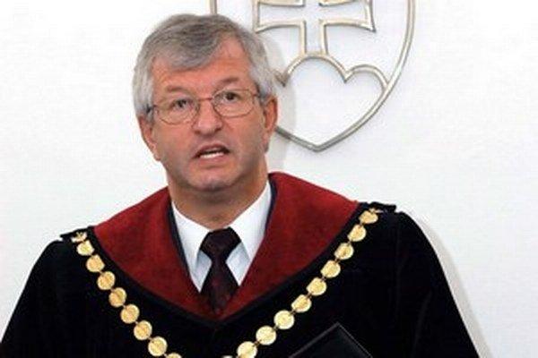Bývalý predseda Ústavného súdu Ján Mazák.