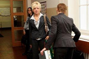 Kontrolórka Lapinová, ktorá poukázala na netransparentné postupy v Národnom lesníckom centre (NLC) vo Zvolene.