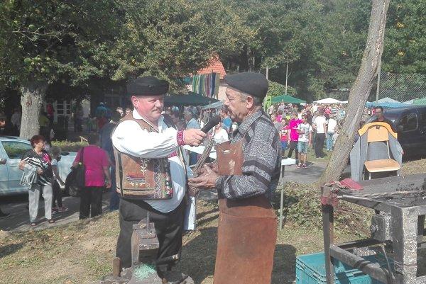 Igor Radič z Klenovca (vpravo)
