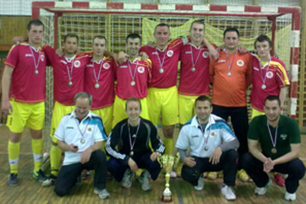 Bronzový tím Open ligy - FSC Prievidza.